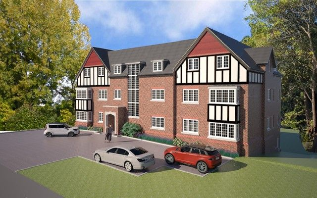 Thumbnail Flat for sale in Tudor Place, Park View, Sutton Coldfield