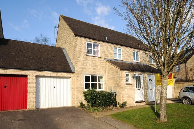 Thumbnail Semi-detached house to rent in Stow Avenue, Witney