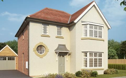 Thumbnail Detached house for sale in Worting Road, Basingstoke