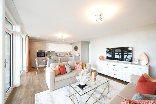 Thumbnail 2 bed flat for sale in 146 Television House, Radcliffe Road, Southampton