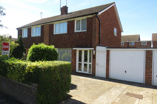 Thumbnail Semi-detached house for sale in Silverstone Close, Kingsthorpe, Northampton