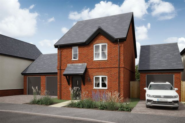 Thumbnail Detached house for sale in The Paddocks, Blunsdon, Swindon, Wiltshire