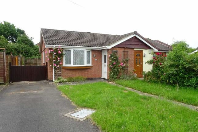 Thumbnail Semi-detached bungalow for sale in Bosworth Close, Hinckley