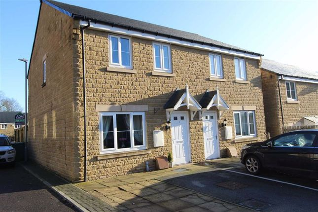 Thumbnail Semi-detached house for sale in Mill View, Milnsbridge, Huddersfield