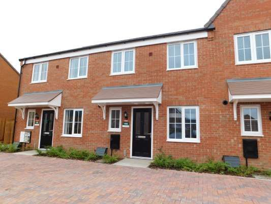 1 bed terraced house to rent in Orfeus Drive, Stanground, Peterborough PE2