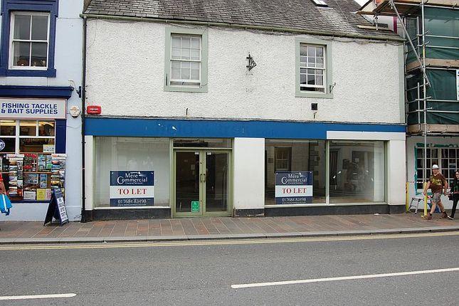 Thumbnail Retail premises to let in Main Street, Keswick
