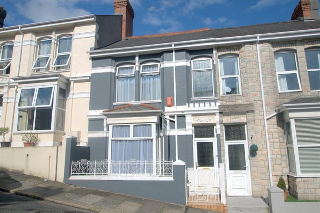Thumbnail Terraced house for sale in Rosebery Avenue, Plymouth