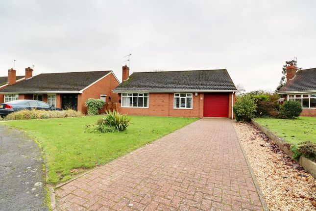 Thumbnail Detached bungalow to rent in Old Rectory Gardens, Ashby, Scunthorpe