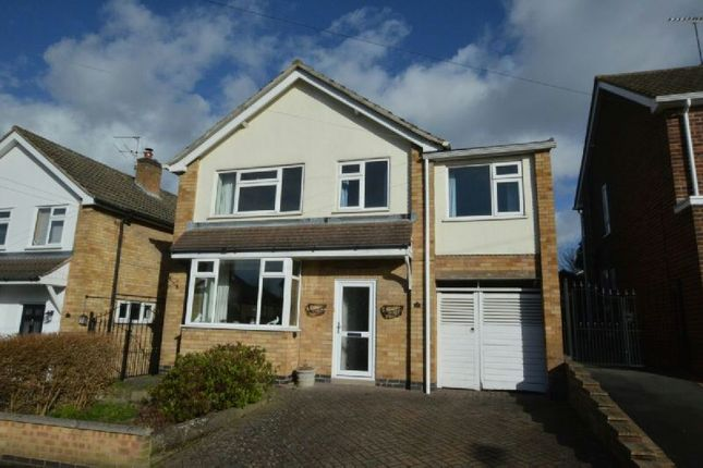 Thumbnail Detached house for sale in Ratcliffe Drive, Huncote, Leicester