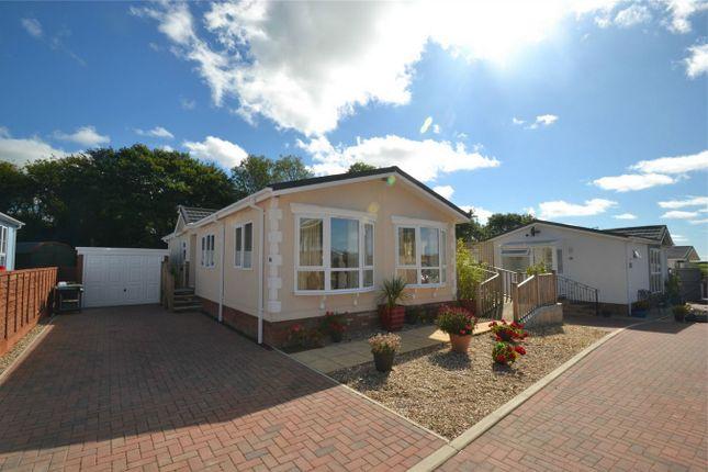 Thumbnail Mobile/park home for sale in Halsinger, Braunton, Devon