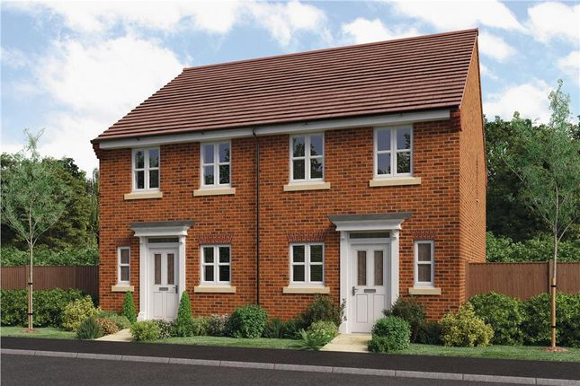 "Thumbnail Semi-detached house for sale in ""Ashford"" at Bidavon Industrial Estate, Waterloo Road, Bidford-On-Avon, Alcester"
