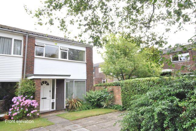 Thumbnail End terrace house to rent in Cranston Close, Reigate, Surrey