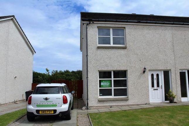 Thumbnail Semi-detached house to rent in Eigie Close, Balmedie, Aberdeen