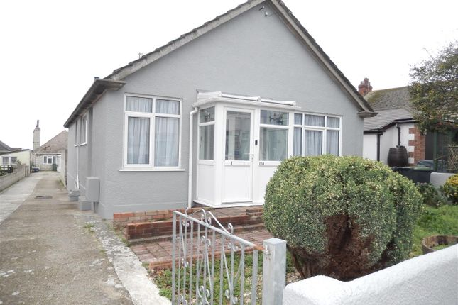 Thumbnail Detached bungalow for sale in Channel View Road, Portland