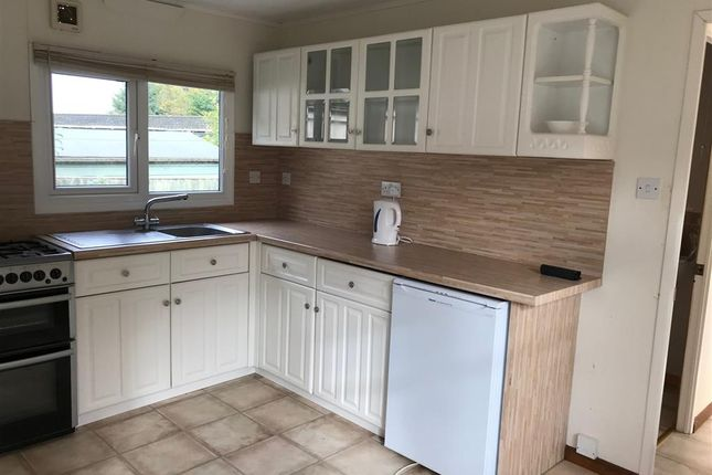 Thumbnail Mobile/park home for sale in Harvel Road, Meopham, Kent
