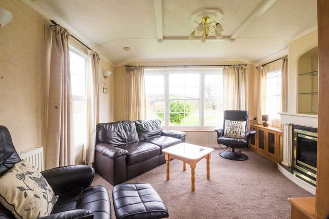 Thumbnail Mobile/park home for sale in Felton, Morpeth, Northumberland