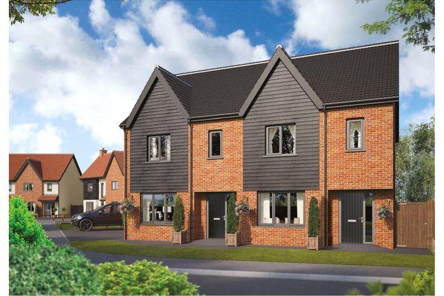 Thumbnail Semi-detached house for sale in Plot 86 Wendover Park, Salhouse Road, Norwich