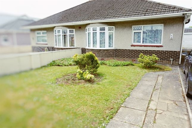 Thumbnail Semi-detached bungalow to rent in Taylor Road, Bridgend, Mid Glamorgan