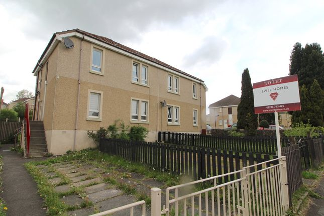 Thumbnail Flat to rent in Burniebrae, Airdrie, North Lanarkshire