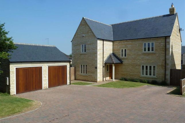 Thumbnail Detached house for sale in Wothorpe Park, First Drift, Wothorpe, Stamford