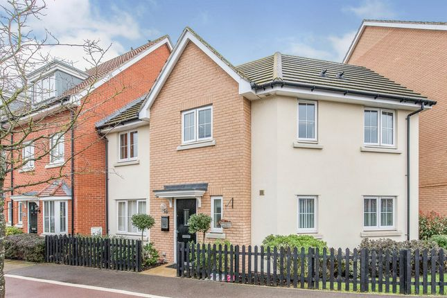 Thumbnail End terrace house for sale in Peppermint Walk, Red Lodge, Bury St. Edmunds