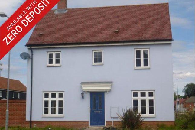 Thumbnail Detached house to rent in Washington Drive, Watton, Thetford