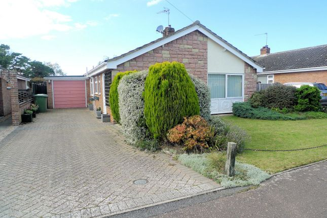 Thumbnail Detached bungalow for sale in Nursery Close, Acle