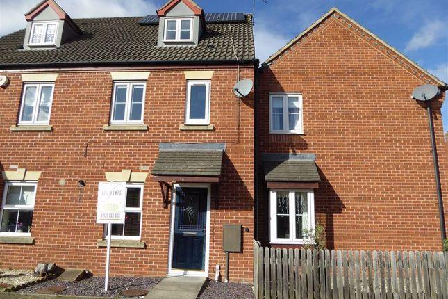 Thumbnail Town house to rent in Coriolanus Square, Heathcote, Warwick