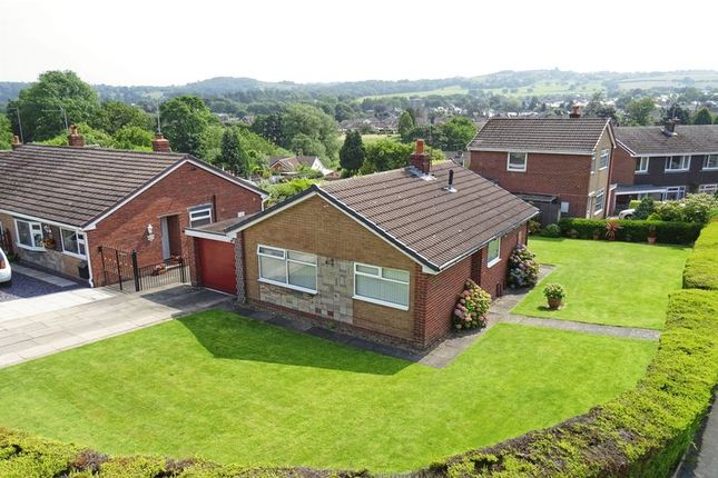 Thumbnail Detached bungalow for sale in York Close, Gillow Heath