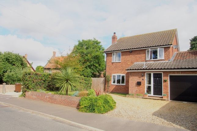 Thumbnail Link-detached house for sale in Chapel Street, Barford, Norwich