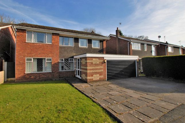 Thumbnail Detached house for sale in St Marys Close, Checkley, Stoke-On-Trent