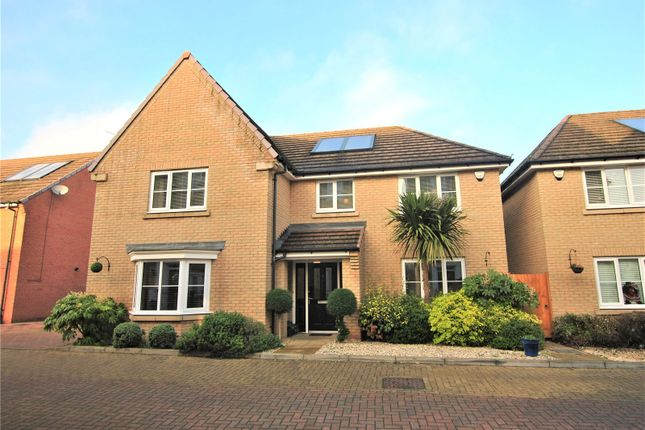 Thumbnail Detached house for sale in Cawbeck Road, Little Canfield, Dunmow