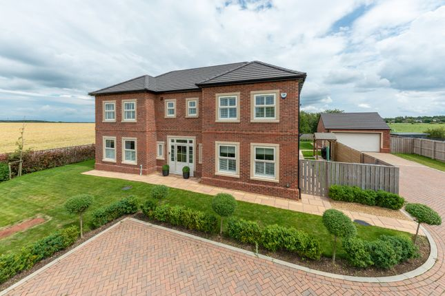 Thumbnail Detached house for sale in 6 Field View, Medburn, Ponteland, Newcastle Upon Tyne
