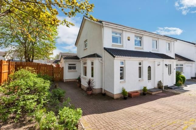 Thumbnail Semi-detached house for sale in Sutton Court, Kilwinning, North Ayrshire