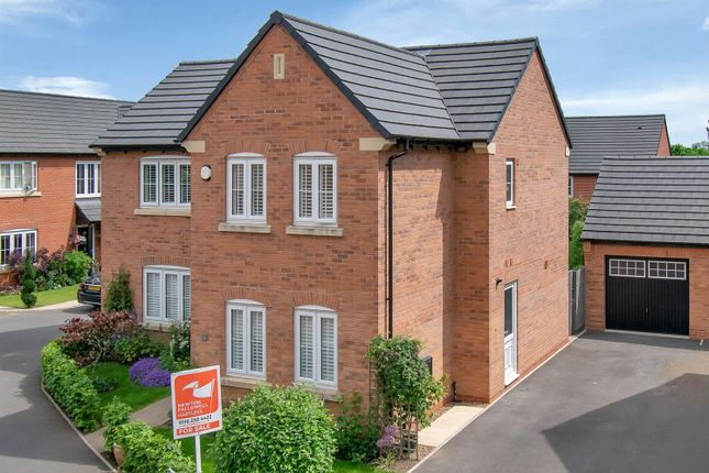 4 bed detached house for sale in Scholars Drive, Rothley, Leicester LE7