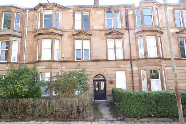 Thumbnail Flat to rent in Holyrood Crescent, Glasgow