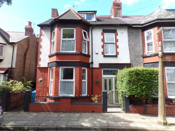 Thumbnail Semi-detached house for sale in Caldy Road, Walton, Liverpool, Merseyside