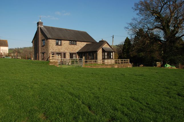 Thumbnail Detached house for sale in Longtown, Herefordshire
