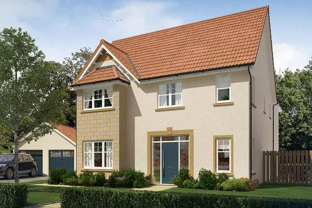 "Thumbnail Detached house for sale in ""The Durham"" at Vert Court, Haldane Avenue, Haddington"