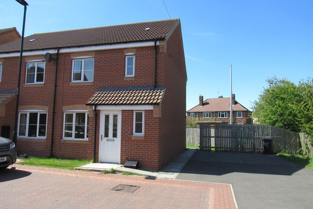 Thumbnail Semi-detached house to rent in Aidans Close, Clay Lane