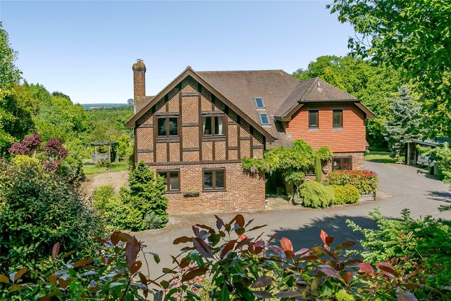 Thumbnail Detached house for sale in Churt Road, Churt, Farnham, Surrey