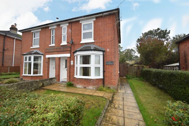Thumbnail 3 bed semi-detached house to rent in Lower New Road, West End, Southampton