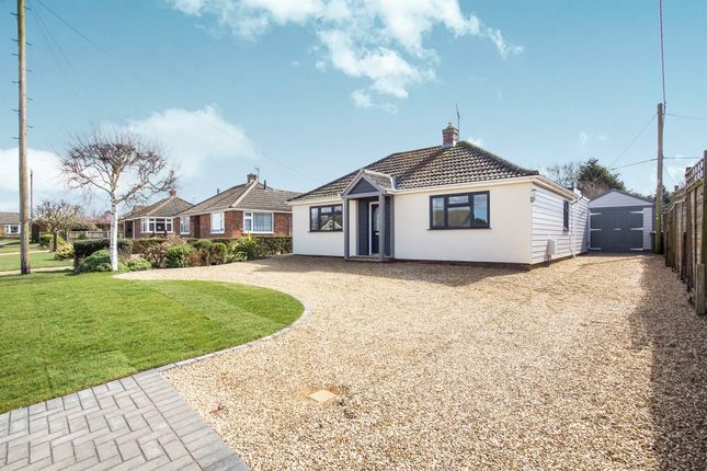 Thumbnail Detached bungalow for sale in Collingwood Close, Heacham, King's Lynn