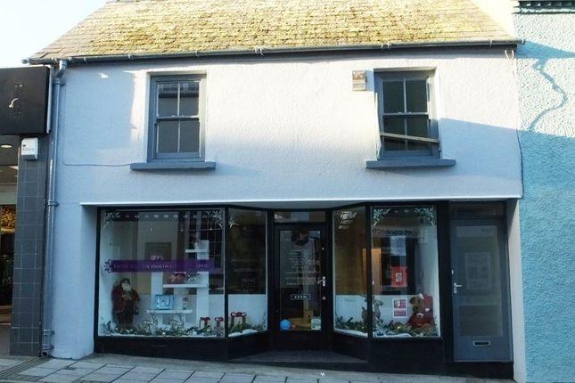 Thumbnail Flat to rent in High Street, Fishguard, Pembrokeshire