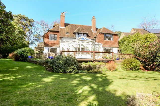 Thumbnail Detached house for sale in Grove Road, Camberley, Surrey