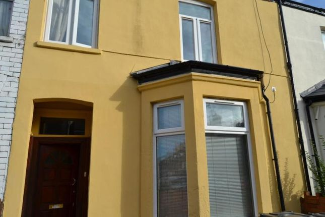 Thumbnail Terraced house for sale in Salisbury Road, Cardiff