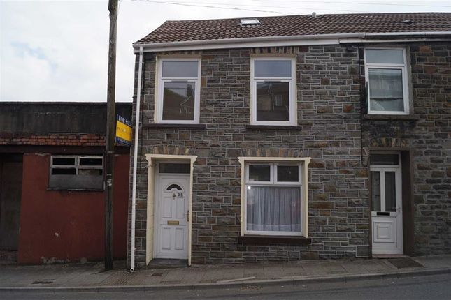 Thumbnail End terrace house for sale in High Street, Mountain Ash