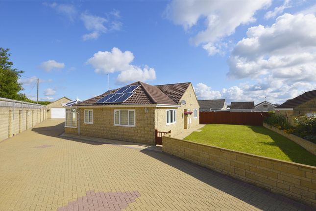 Thumbnail Detached bungalow for sale in Coxwynne Close, Midsomer Norton