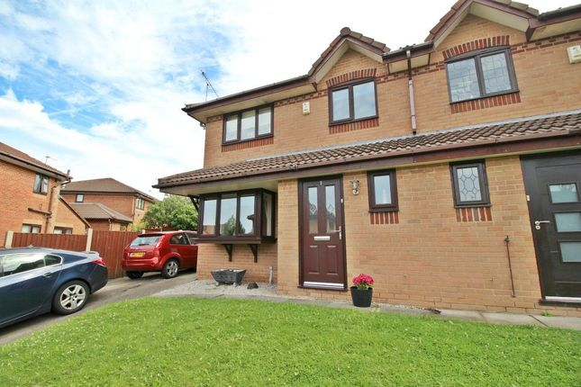 Thumbnail Semi-detached house to rent in Nairn Avenue, Skelmersdale