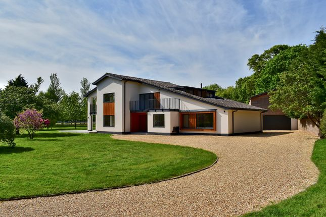 Thumbnail Detached house for sale in Sway Road, Lymington